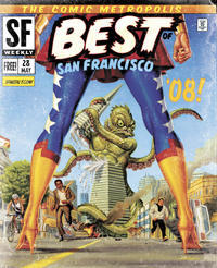 SF Weekly Best of Bay 2008 Cover