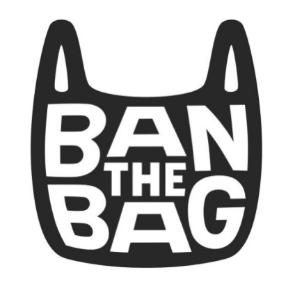 Ban the bag logo