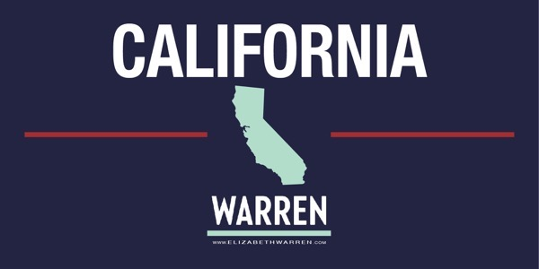 California for Warren