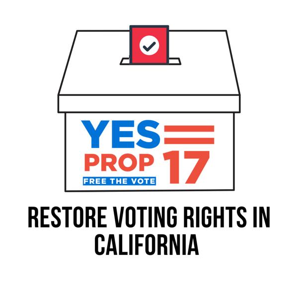 RESTORE VOTING RIGHTS IN CALIFORNIA